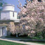 Hopkins Observatory in summer