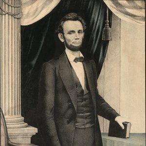 Abraham Lincoln portrait 1864?