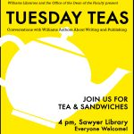Image of promotional poster for Tuesday Teas Series