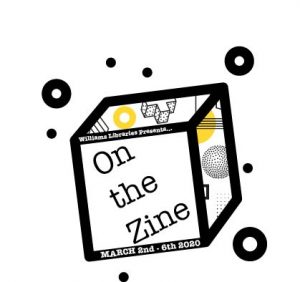 On the Zine. Promotional graphic for zine collection