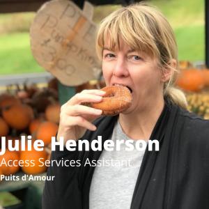 Julie Henderson, Access Services Assistant