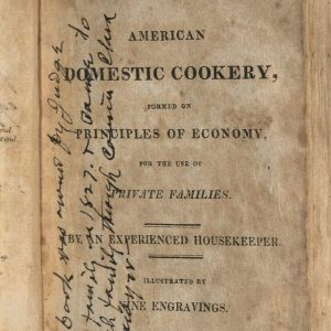 Image of cookbook page