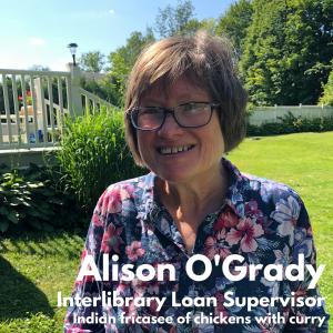 Alison O'Grady, Interlibrary Loan Supervisor
