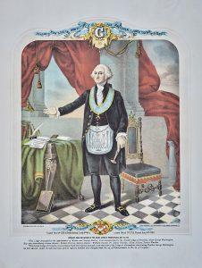 George Washington in Masonic garb
