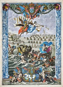 decorative title-page from Le Neptune francois 1693
