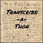 Transcribe-a-thon poster