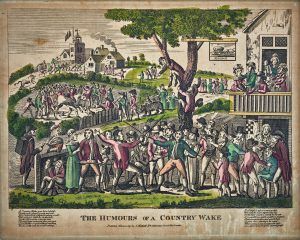 The Humours of a Country Wake by John Marshall 1794