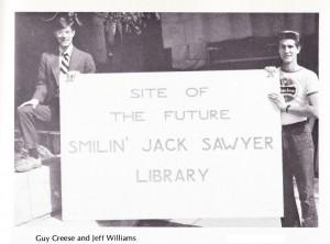Smilin' Jack Sawyer Sign